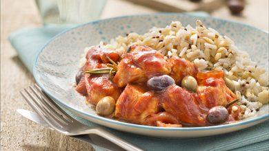 Photo de Sauté de dinde aux olives, Riz Blé Sarrasin & Quinoa Uncle Ben's®