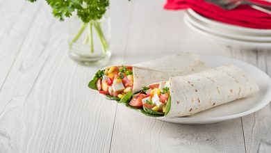 Photo de Wraps d'houmous