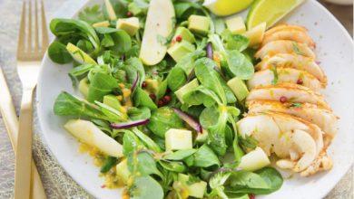 Photo de Langouste grillée et salade de mâche Florette®