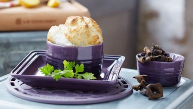 Photo de Soufflé de pommes de terre aux champignons