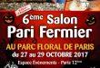 6ème salon Pari Fermier d'automne au Parc Floral de Paris du 27 au 29 octobre 2017