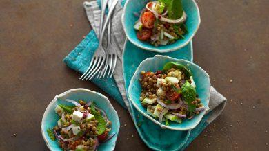 Photo de Salade de lentilles vitaminée