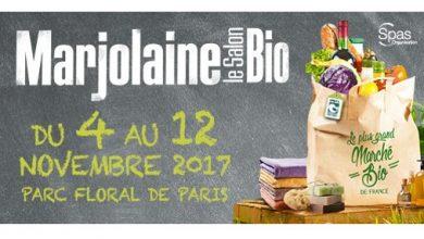 """Photo de """"Salon Marjolaine"""" Le plus grand Salon Bio de France du 4 au 12 novembre 2017 Parc Floral de Paris"""