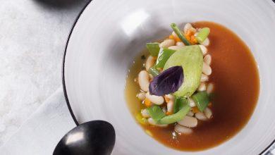Photo de Soupe au pistou, sorbet basilic/citron vert à l'huile d'olive Gallo Classique