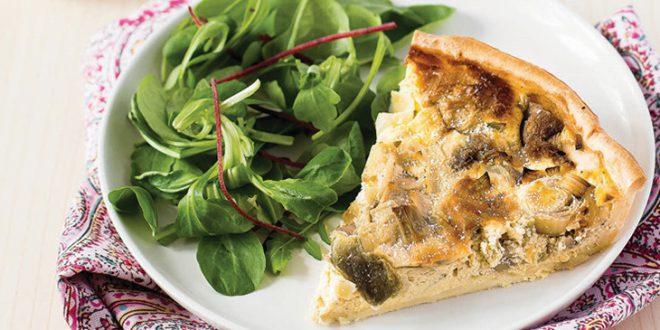 Tarte gourmande aux poireaux & parmesan