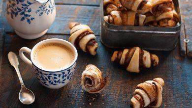Photo de Mini-Croissants végans à la Chocolade sans lait de Jean Hervé, orange et cannelle