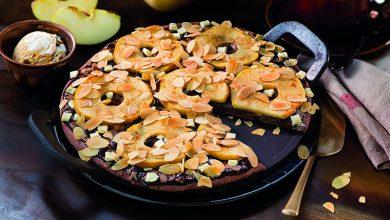 Photo de Pizza chocolat pommes-cannelle