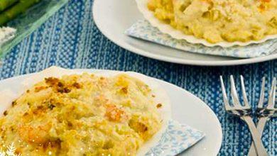 Photo de Noix de Saint-Jacques en crumble au fromage frais