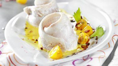 Photo de Filet de Vive à la crème safranée et ses agrumes