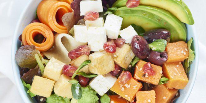 Healthy bowl végétarien