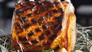 Photo de Cochon laqué et gnocchis de sarrasin
