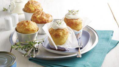 Photo de Cupcakes de Ratte du Touquet à la mousse de crabe