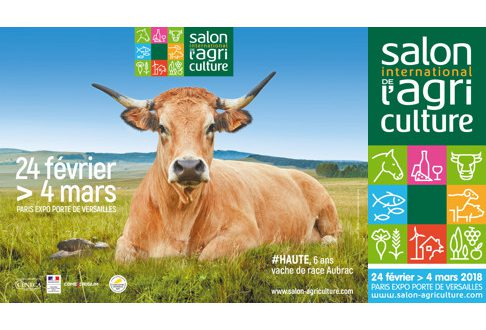 """Salon International de l'Agriculture"" du 24 février au 4 mars 2018"
