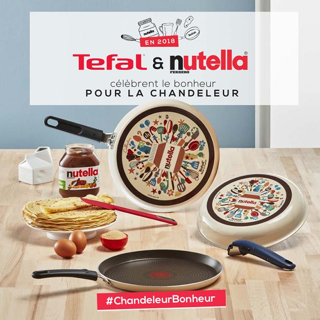 Mille feuilles de cr pes au nutella cr me la vanille - Nutella tefal com jeux ...
