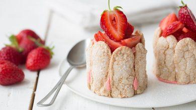 Photo de Charlotte aux fraises