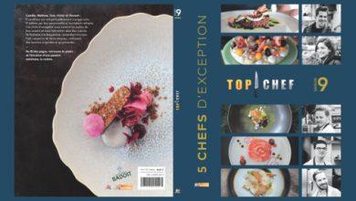 """Photo de Le livre """"TOP CHEF"""" Saison 9 – 5 chefs d'exception M6 Éditions"""
