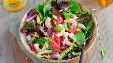 Photo de Salade fraîcheur, crevettes, agrumes