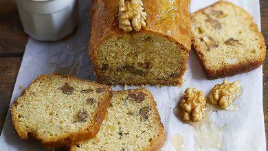 Photo de Cake sans gluten aux noix de Grenoble