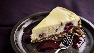 Photo de Tarte cheesecake aux framboises