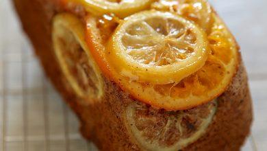Photo de Cake aux millefeuilles d'agrumes