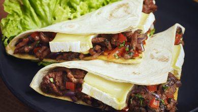 Photo de Quesadillas de bœuf au Pavé d'Affinois Original