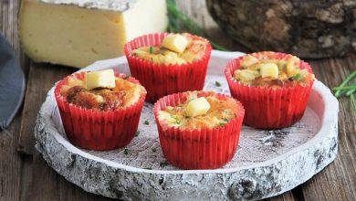 Photo de Muffins tomates séchées, ciboulette et Tomme de Savoie IGP