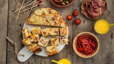 Photo de Tortilla espagnole au jambon Serrano Aoste