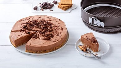 Photo de Cheesecake au chocolat