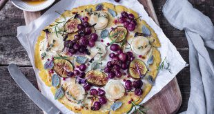 Muscat du Ventoux AOP en tarte fine, chèvre et figues