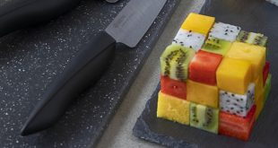 Rubik's Cube de fruits exotiques