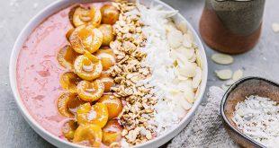 Smoothie bowl aux Mirabelles de Lorraine et fraises