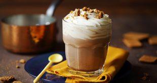 Chocolat chaud, chantilly et spéculoos