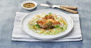Cuisse de poulet sauce Ponzu au gingembre