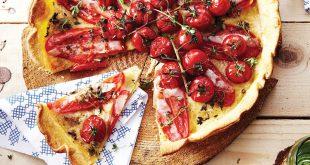 Tarte aux deux tomates au Gruyère AOP Suisse