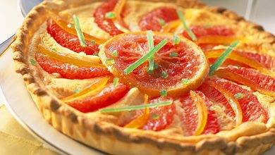 Photo de Tarte aux pamplemousses