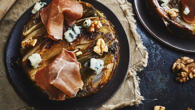 Photo de Tartelettes tatins endive-roquefort au jambon ConsorcioSerrano
