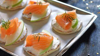 Photo de Bouchée de saumon et granny au combawa