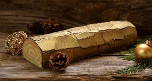 Bûche faux bois
