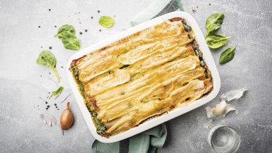 Photo de Cannellonis au fromage pour tartiflette RichesMonts et aux épinards