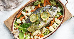 Dorade au four et légumes vapeur Florette®