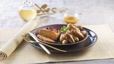 Photo de Foie gras rôti aux Ratte du Touquet