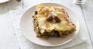 Lasagnes aux marrons et potiron