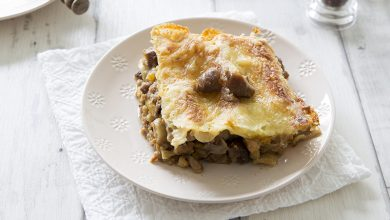 Photo de Lasagnes aux marrons et potiron