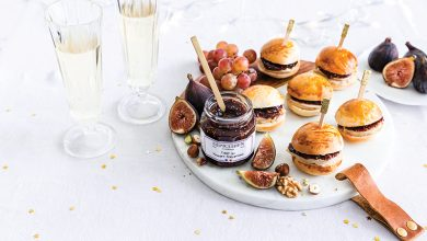 Photo de Mini-burgers au foie gras et Figue au Vinaigre Balsamique