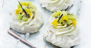 Pavlova, crème, duo mangue – kiwi Oscar®