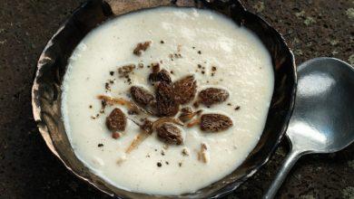 Photo de Soupe de panais aux morilles
