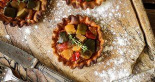 Tartelettes à la Ratatouille Provençale Pro Sain