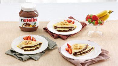 Photo de Crêpes au Nutella® et aux fruits