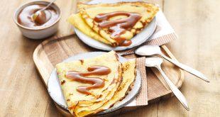 Crêpes sans gluten Tipiak caramel au beurre salé