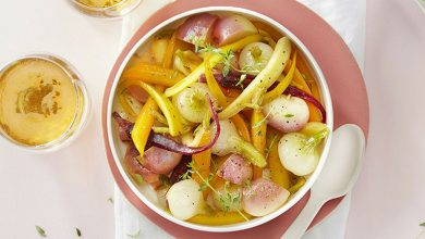 Photo de Légumes glacés au cidre